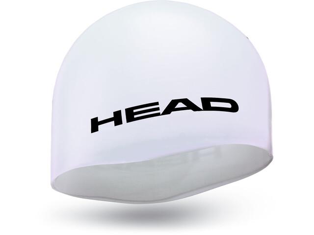 Head Silicone Moulded Badehætte hvid (2019) | swim_clothes